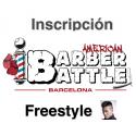 Inscripción Diseño Freestyle