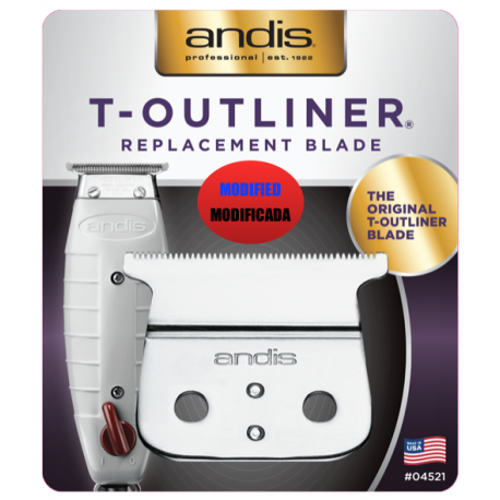 Recambio Cuchillas Andis T- Outliner (Version Americana)