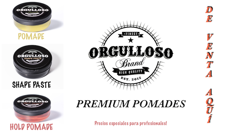 Orgulloso Brand Pomades